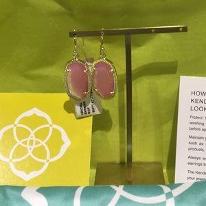 Kendra Scott Dani earring rose gold blush MOP